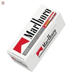 1000 Marlboro Red EXTRA (4 x 250er Hülsen) Filterhülsen,Zigarettenhülsen - 1