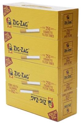 4 x 250 Zig Zag Filterhülsen -