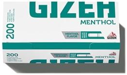 Gizeh MENTHO TIP Filterhülsen 5 x 200 Stk. - 1