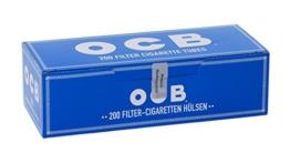 OCB Zigarettenhülsen mit Filter zum Selbststopfen (200) -