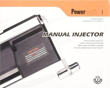 Powermatic I - Luxus Stopfmaschine der Extraklasse Farbe: Anthrazit -